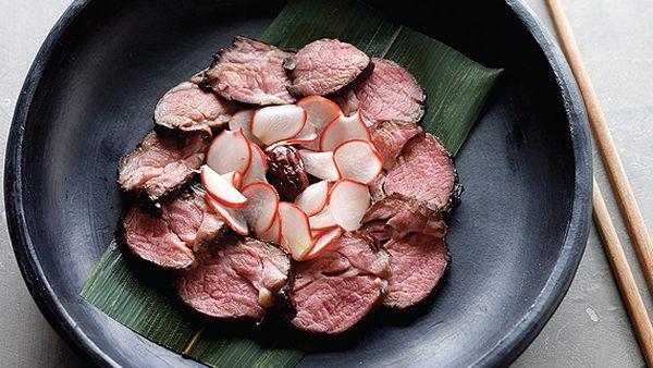 Misoyaki lamb