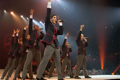 The Warblers... warble...