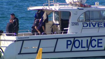 NSW Police launched a land and water search.