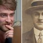 Daniel Radcliffe breaks down as he reads hgreat-grandfather's suicide note