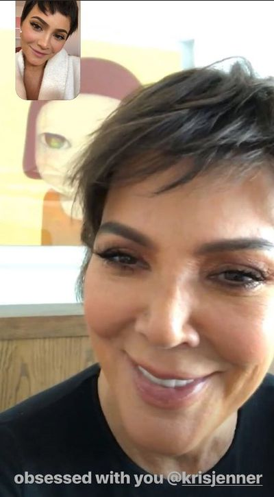 Kylie Jenner steals mum's signature pixie hairstyle
