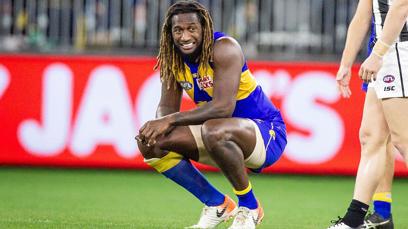 Nic Naitanui of the Eagles