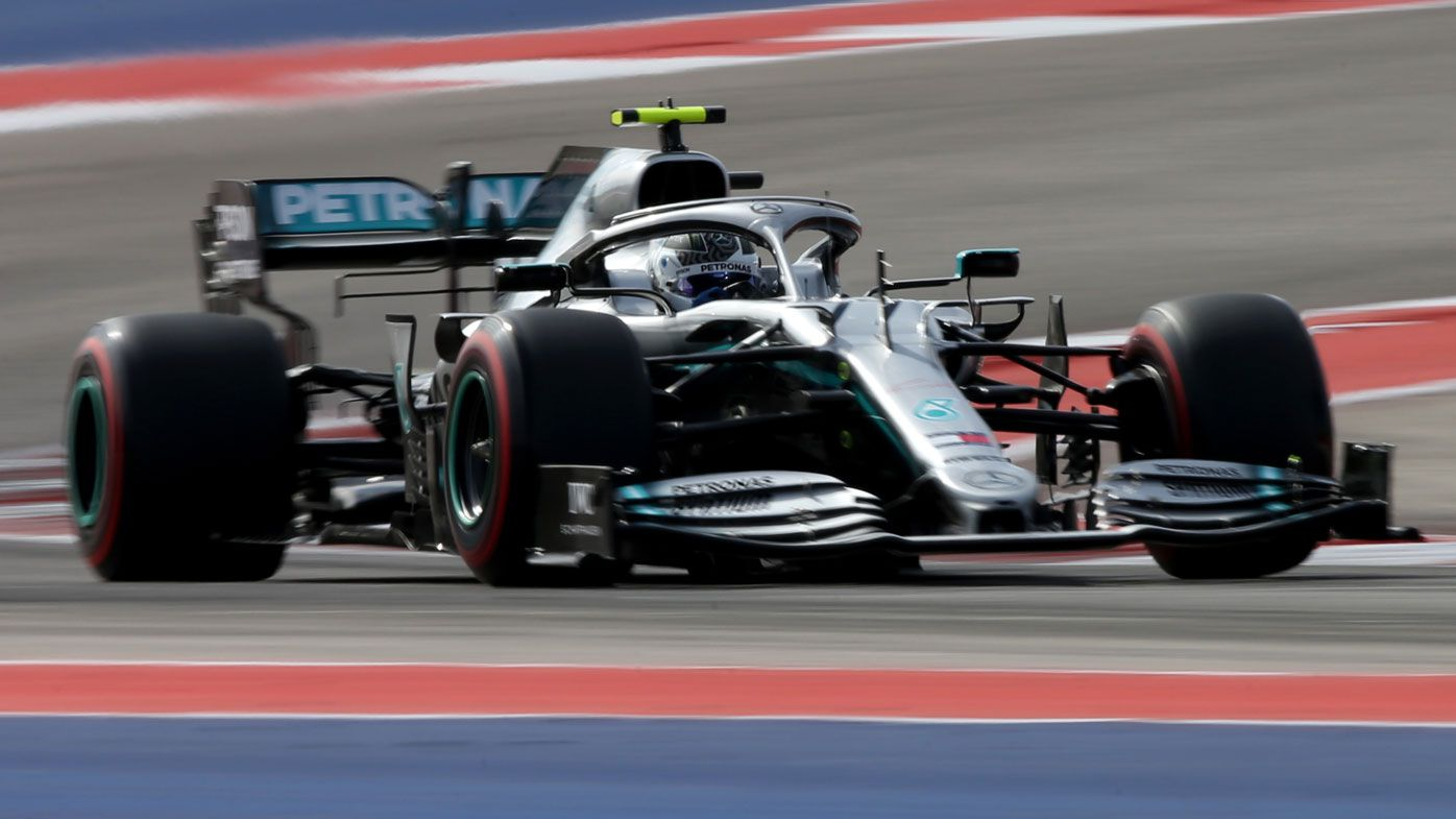 Valtteri Bottas on pole at US Grand Prix, Lewis Hamilton fifth, Daniel Ricciardo ninth