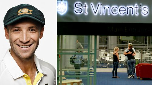 Hughes remains in a critical condition at St Vincent's hospital.