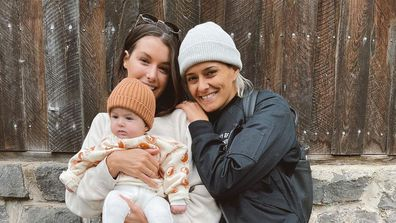Moana Hope and her wife Isabella Carlstrom welcomed baby Svea 11 months ago.