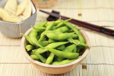 <strong>Edamame beans</strong>