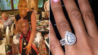Lamar Odom has proposed to girlfriend Sabrina Parr