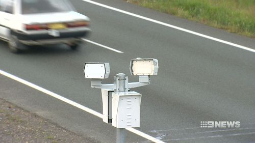 The cameras are set to be stationed on overhead bridges above motorways and in tunnels (Supplied).
