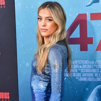 "Sistine Rose Stallone attends the LA Premiere of Entertainment Studios' ""47 Meters Down Uncaged"" at Regency Village Theatre on August 13, 2019 in Westwood, California."