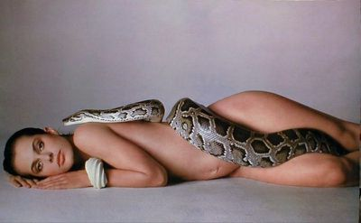 <p>This famous photograph by Richard Avedon of pregnant German actress <strong>Nastassja Kinski</strong> with a boa constrictor, for US Vogue's October 1981 issue, has sold over two million prints.</p>