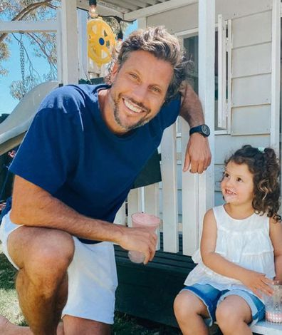Sam Wood with daughter Willow