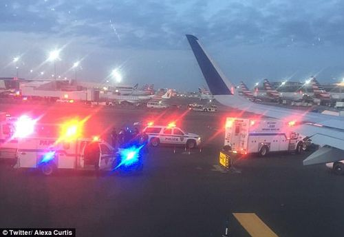 The pilot apparently hit the wrong code...instead of signalling to the control tower the plane's radio was down, he apparently hit the 'hijack' code. (Twitter)