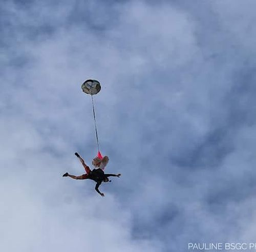 The BASE jumper regularly shares photos of his jumps on social media. (Facebook)
