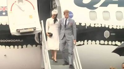 Royals treat Fiji to a formal arrival