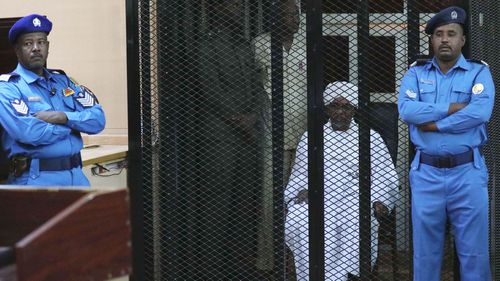 A Sudanese court in Khartoum on 14 December 2019 found former president al-Bashir guilty of money laundering and sentenced him to two years in rehabilitation facility.