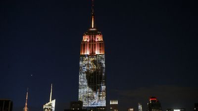 """A giant picture of the beloved Zimbabwean lion killed by an American trophy hunter was among images projected onto the Empire State Building in New York in a dazzling display on Saturday.<br> <br>The """"Projecting Change on the Empire State Building"""" initiative was designed to raise awareness about the plight of endangered animals and was billed as a first of its kind. <br> <br>An image of the lion Cecil, whose killing has sparked international outrage, was prime among animals whose pictures covered 33 floors of the southern face of one of the world's most famous landmarks in an eight-minute video loop. <br> <br>New Yorkers from as far as 20 blocks away snapped pictures of the building as it lit up the nighttime sky over a steamy Manhattan. <br> <br>The project was the brainchild of Louie Psihoyos, founder of the Oceanic Preservation Society and director of Oscar-winning 2009 documentary film """"The Cove,"""" which shone a grisly light on Japan's dolphin-hunting industry. <br> <br>Fisher Stevens, producer of """"The Cove,"""" told AFP that Psihoyos had chosen the Empire State """"because he wanted the most iconic building that he could think of, and for him it was the Empire State."""" <br> <br>The project was designed """"to start a conversation,"""" he added. <br> <br>In 2011 the top portion of the Empire State building was lit up in red to symbolize the blood of the slaughter depicted in """"The Cove."""" <br> <br>Click through the gallery for more photos of the display. (AFP)<br>"""
