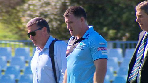 Cronulla captain Paul Gallen denies swearing at child
