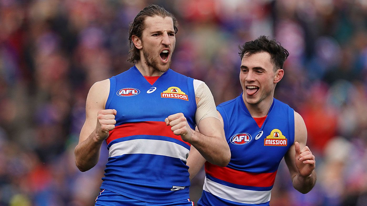 Bailey Dale boots five as rampant Western Bulldogs book finals spot