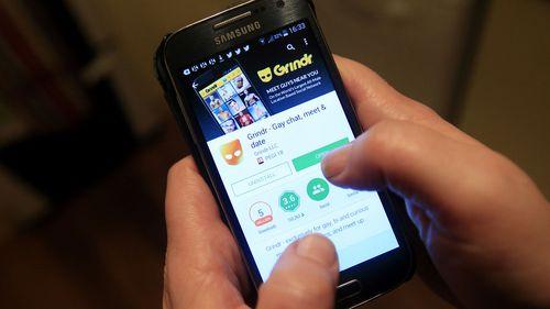 Grindr is a popular dating app for gay men.