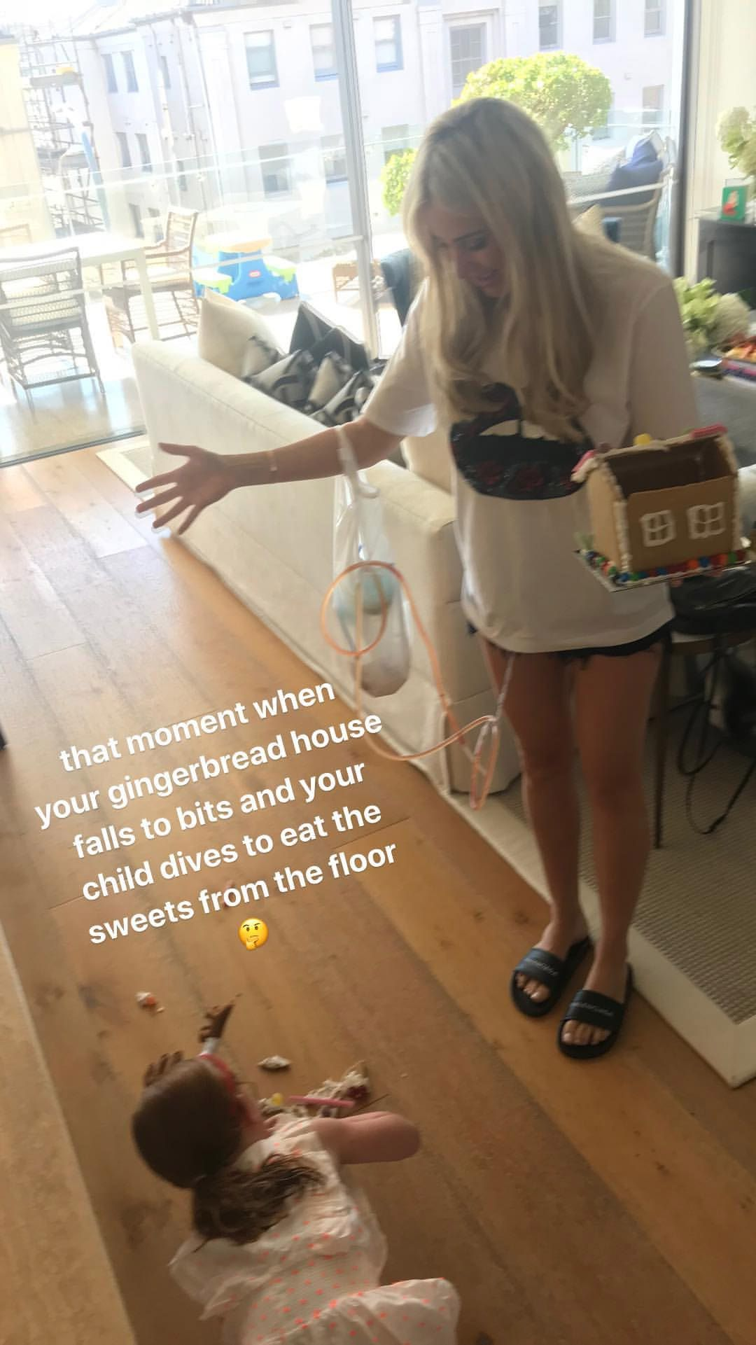 Roxy Jacenko recovers from breast reconstruction surgery