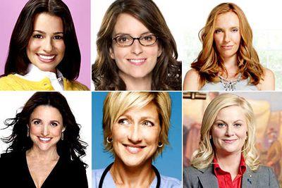 Lea Michele, <I>Glee</I><br/><br/>Tina Fey, <I>30 Rock</I><br/><br/>Toni Collette, <I>The United States of Tara</I><br/><br/>Julia Louis-Dreyfus, <I>The New Adventures of Old Christine</I><br/><br/>Edie Falco, <I>Nurse Jackie</I><br/><br/>Amy Poehler, <I>Parks and Recreation</I>