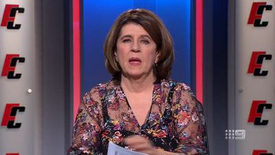 Caroline Wilson criticises AFL over Mark of the Year award 'stuff-up' overlooking Aaron Francis
