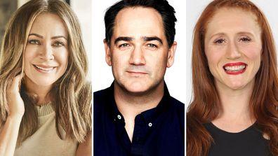 Celebrity Apprentice Australia 2021 Michelle Bridges, Michael 'Wippa' Wipfly, Olivia Vivian