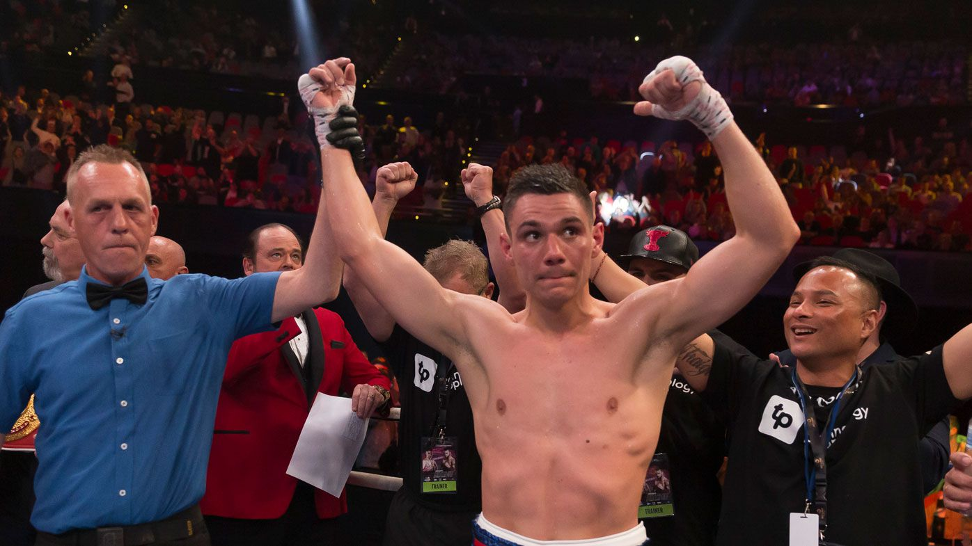 Tim Tszyu tames Dwight Ritchie for welterweight title, eyes Jeff Horn fight