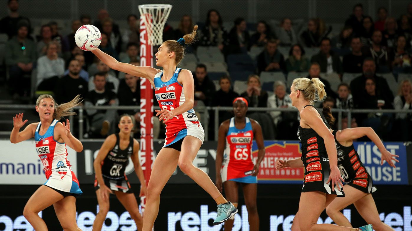 Magpies and Swifts draw in Super Netball