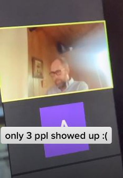 Teacher hosts movie night on zoom but only three students turn up