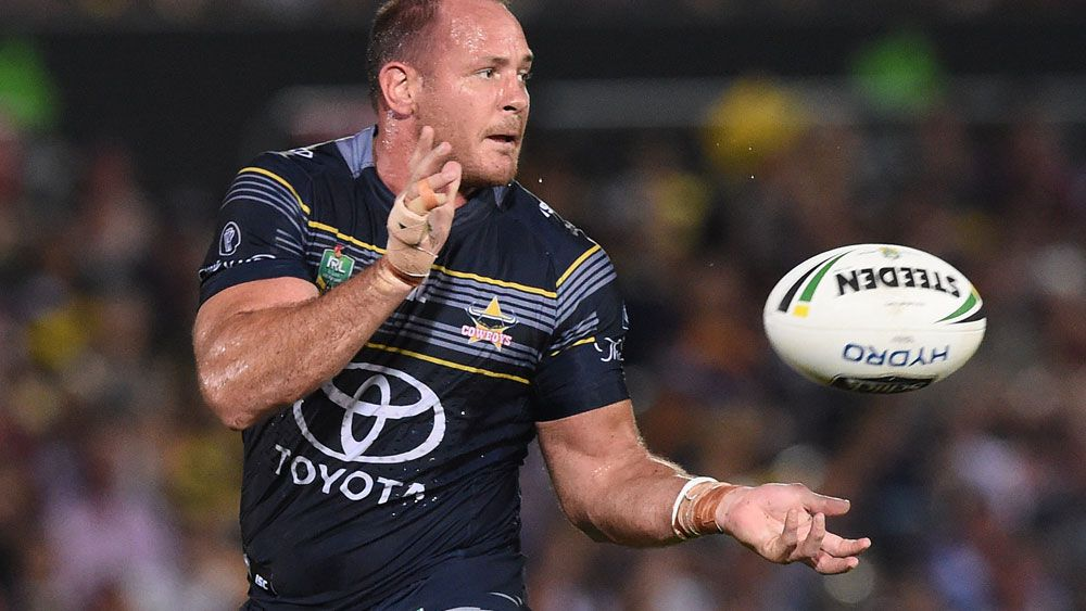 North Queensland Cowboys enforcer Matt Scott is expected to be fit to face the Canberra Raiders. (AAP)