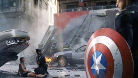 Watch: The Avengers' alternate opening scene