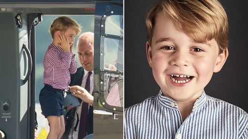 Prince George recently celebrated his fourth birthday. (AAP/Getty)