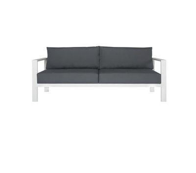 """Torquay three seater outdoor sofa $799,<a href=""""https://www.freedom.com.au"""" target=""""_blank"""">Freedom.</a>"""