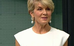 Julie Bishop becomes first female chancellor of ANU