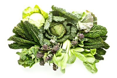 Eat: Green leafy vegetables