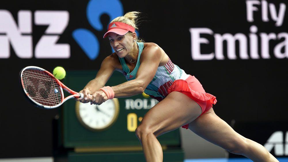Kerber believes ahead of Open final