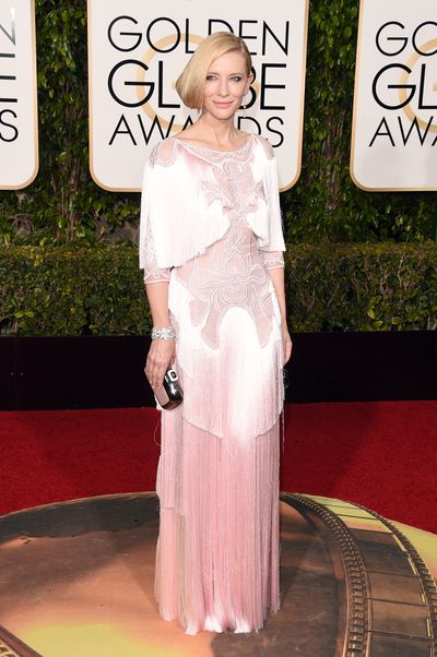 Cate Blanchett in Givenchy at the 73rd Annual Golden Globe Awards in Los Angeles, January, 2016