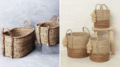 Baskets for every budget to get any room in your house organised