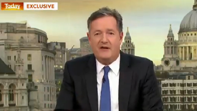 Piers Morgan says he used to be friends with Meghan.