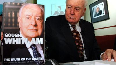 Whitlam wrote extensively into his 80s. (AAP)