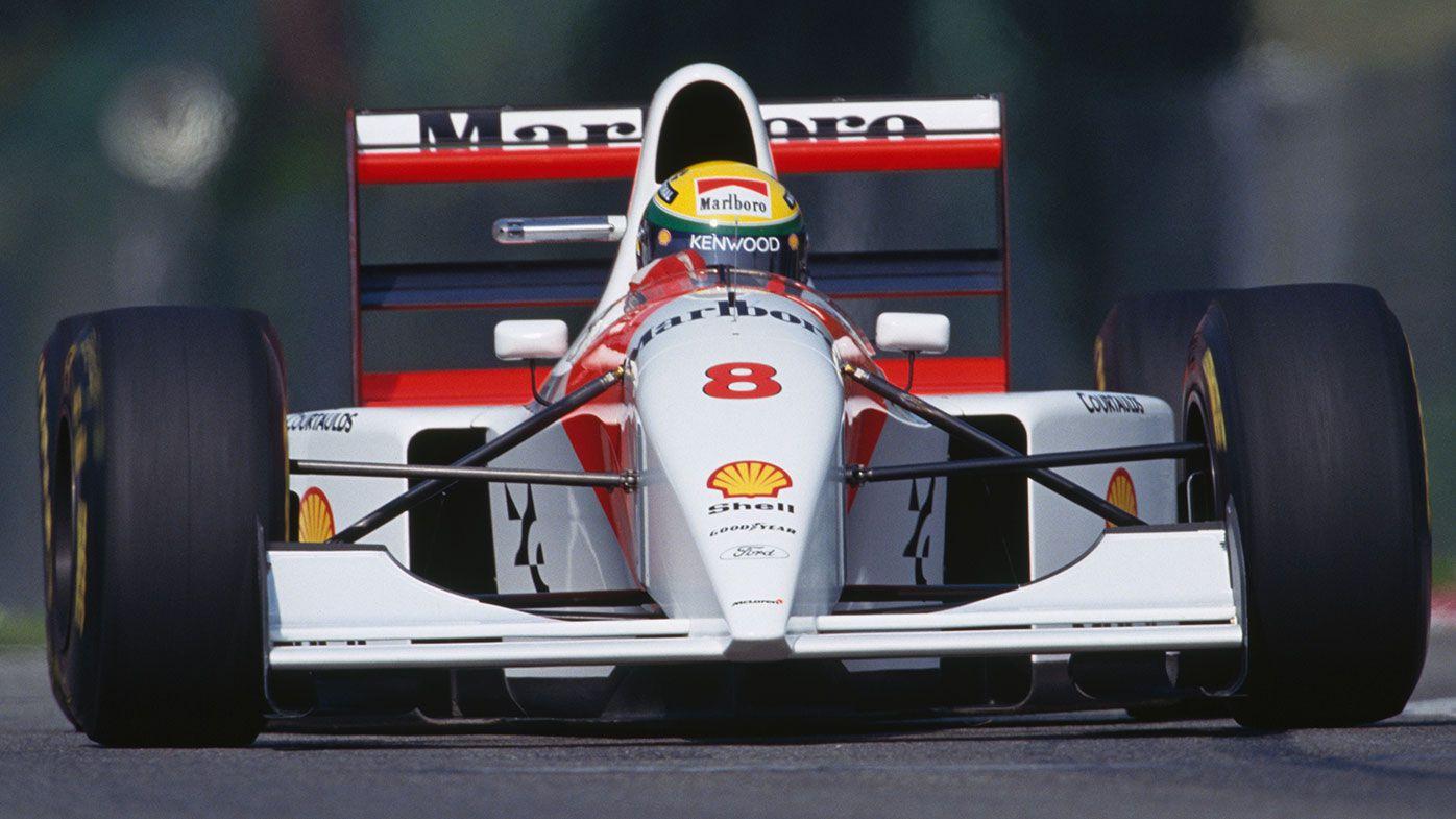 Ayrton Senna 1993 McLaren-Ford