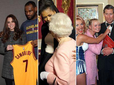 Celebrity royal encounters that raised eyebrows