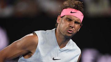 Rafael Nadal of Spain