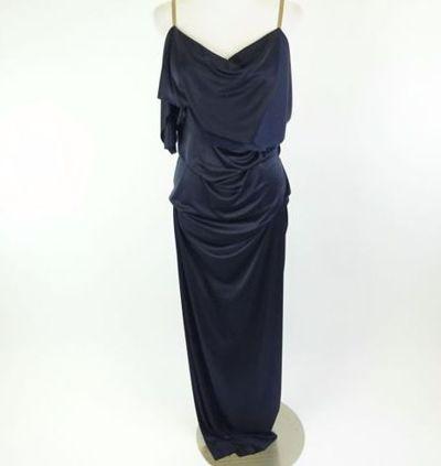 "Kim Kardashian West <a href=""https://www.ebay.com/itm/Kim-Kardashian-West-MASON-MARTIN-MARGIELA-Blue-Gown-Dress-Sz-40/202219115548?_trkparms=%26rpp_cid%3D58a24ca2e4b0fa4552d36ff2%26rpp_icid%3D58a24b82e4b04206a7b801b5"" target=""_blank"">MASON MARTIN MARGIELA Blue Gown</a>,&nbsp;Sz 40, current bid, $255.27"