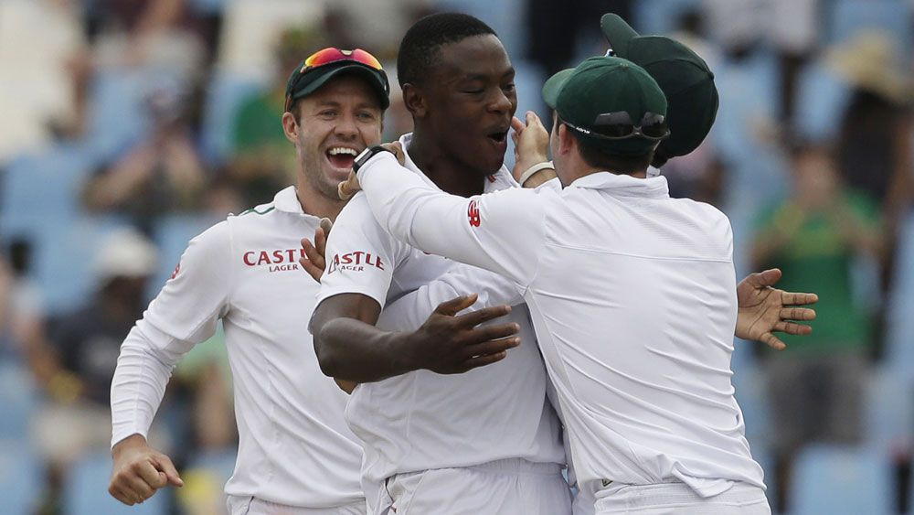 Kagison Rabada finished with seven wickets. (AAP)