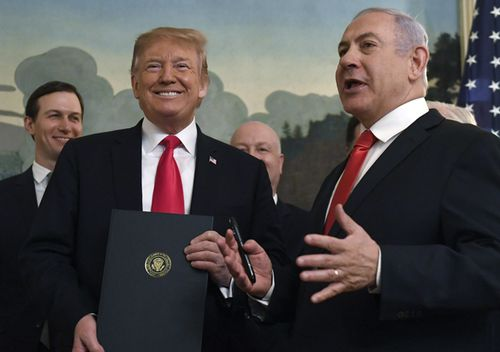 The announcement, which breaks with international law and consensus, is the latest in a string of hardline, pro-Israeli moves that are likely to inflame tensions between the Trump administration and Palestinians and widen the divide between the Trump administration and traditional US allies in Europe.