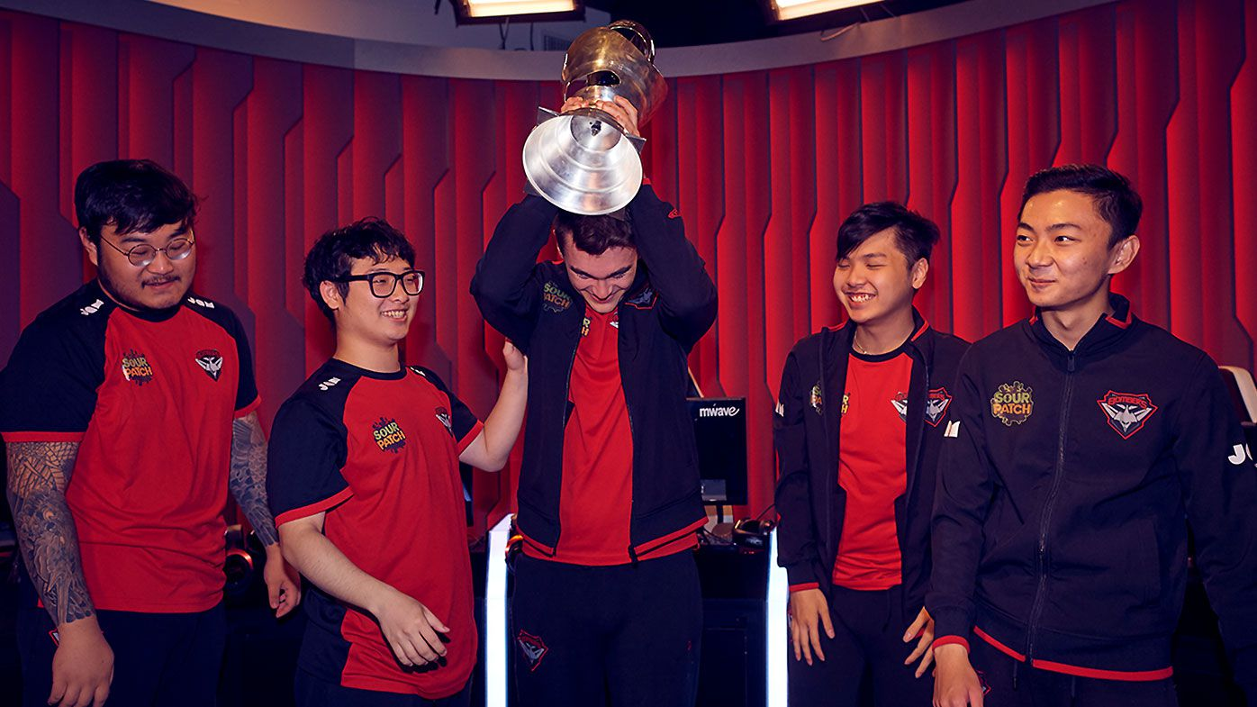 Essendon Bombers Esports team make it to the world stage in League of Legends Mid-Season Invitationals