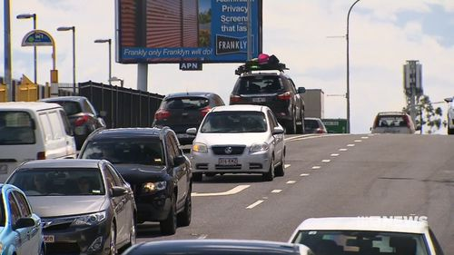 Drivers who queue across intersections may faced increased fines. (9NEWS)