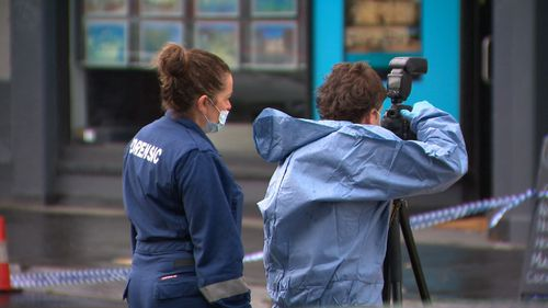 Police have gathered CCTV as investigations continue.